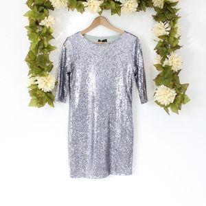 NWT ASOS Club L Sequin Bodycon Dress